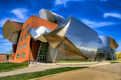 Frank Gehry's design for Peter B. Lewis building